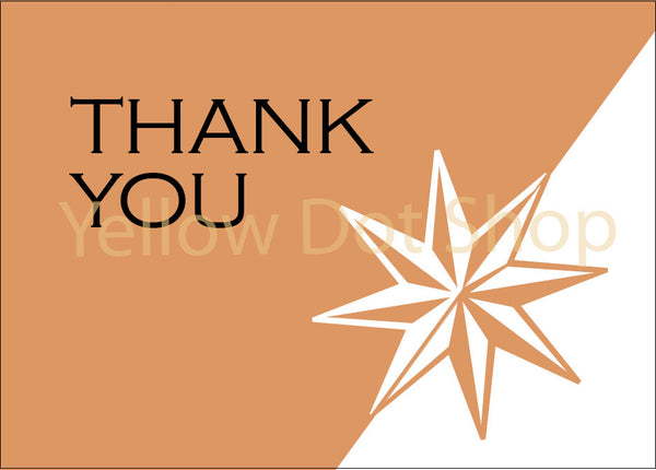 Thank You Card-Star - 020