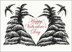 Valentines Trees-Birds Card 030