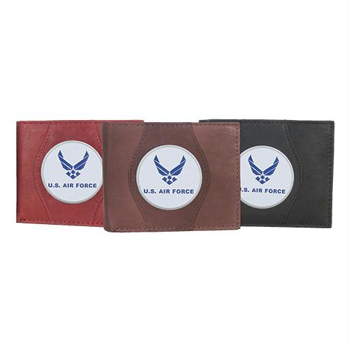 Leather Wallet - Air Force Wings