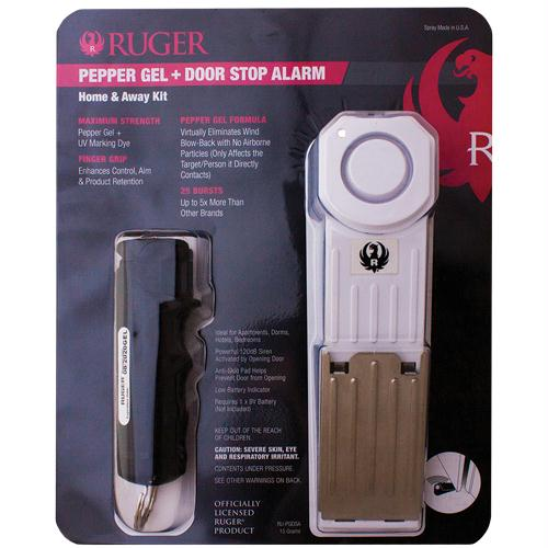 Ruger Pepper Gel & Door Stop Alarm