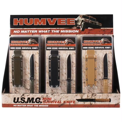 Humvee Combat Neck Knives