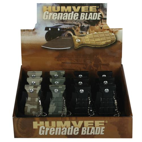 Humvee Grenade Knife Display