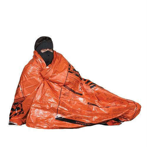 Polarized Emergency Blanket