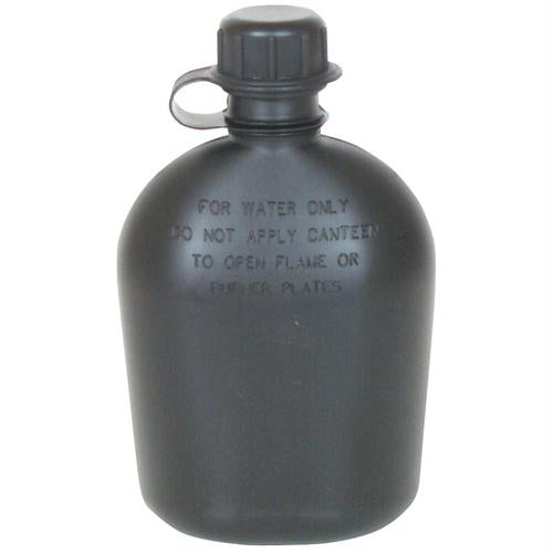1 Qt. Canteen (2-piece) - Black