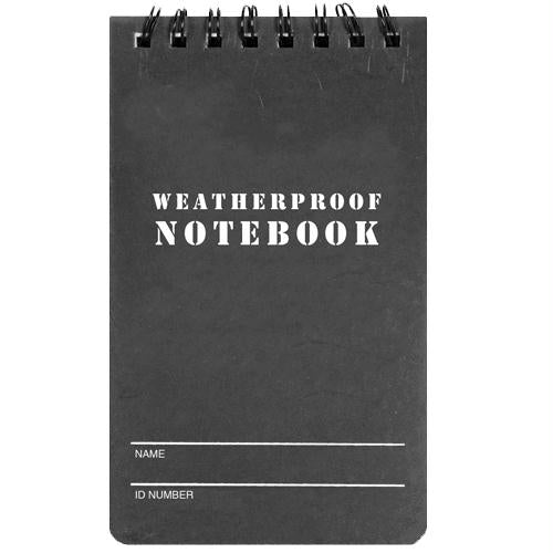 Military Style Weatherproof Notebook (3