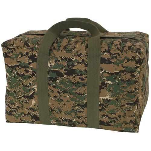 Parchute Cargo Bag - Digital Woodland