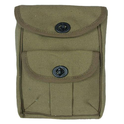 2-pocket Ammo Pouch - Olive Drab