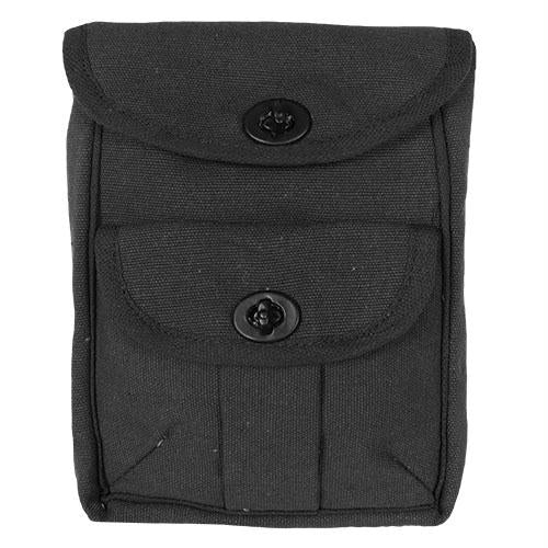 2-pocket Ammo Pouch - Black