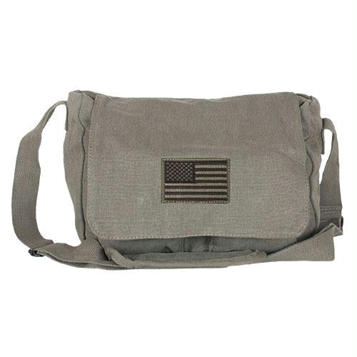 Retro Departure Shoulder Bag - USA Flag / USA Flag