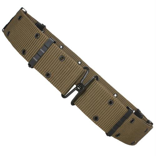 Nylon Pistol Belt - Metal Buckle - Olive Drab