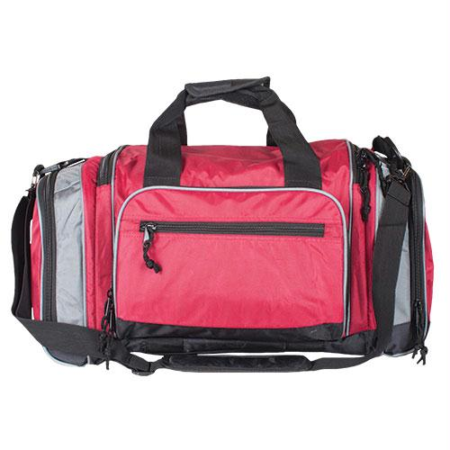 Covert-carry Sport Duffel - Burgundy - Grey Trim