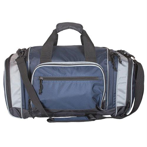 Covert-carry Sport Duffel - Navy Blue - Grey Trim