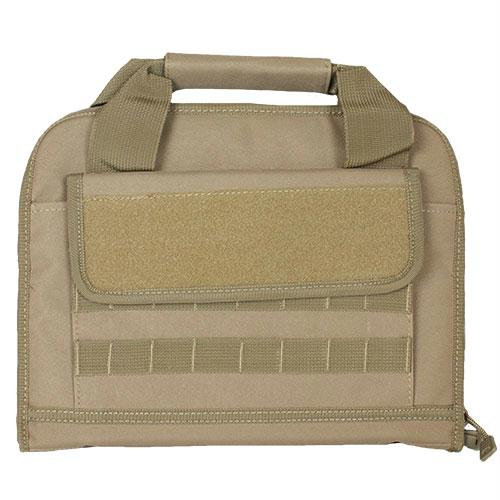 Dual Tactical Pistol Case - Coyote