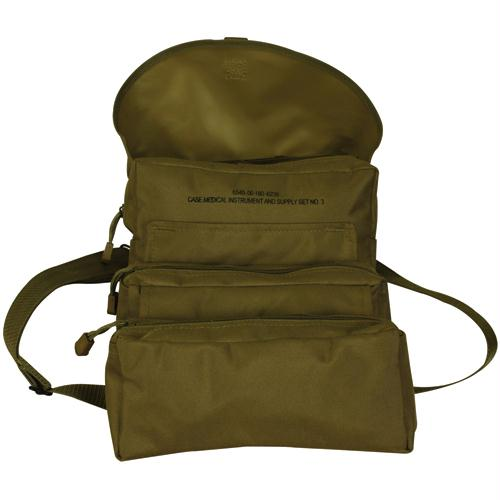 Trifold Medical Bag & First Aid Kit - Coyote
