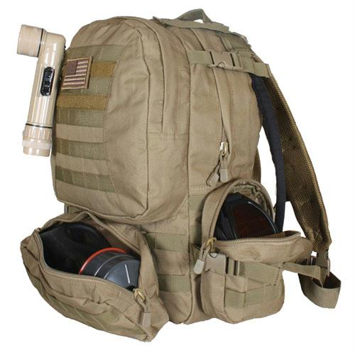 Advanced Hydro Assault Pack - Coyote