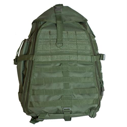 Ambidextrous Teardrop Tactical Sling Pack - Olive Drab