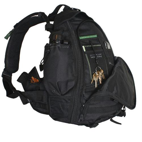 Ambidextrous Teardrop Tactical Sling Pack - Black