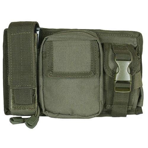 Triple Panel Pouch - Olive Drab