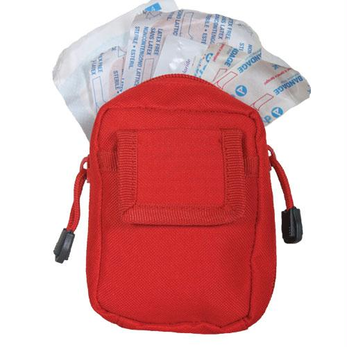 Small Modular 1st Aid Kit - Red