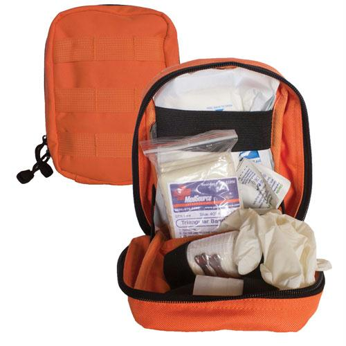 Large Modular 1st Aid Kit - Safety Orange