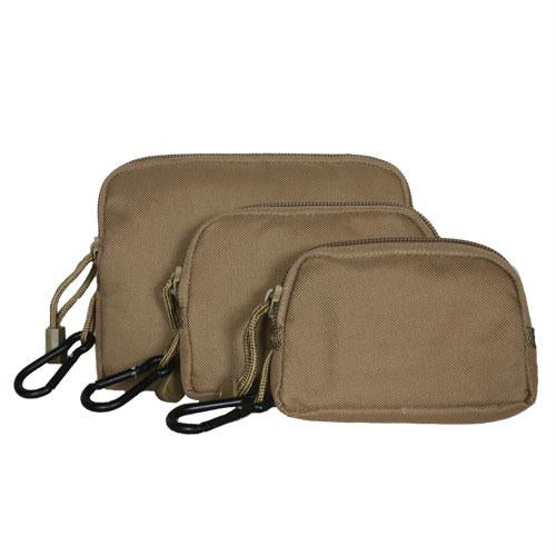 Padded Field Wallet-case Set - Coyote
