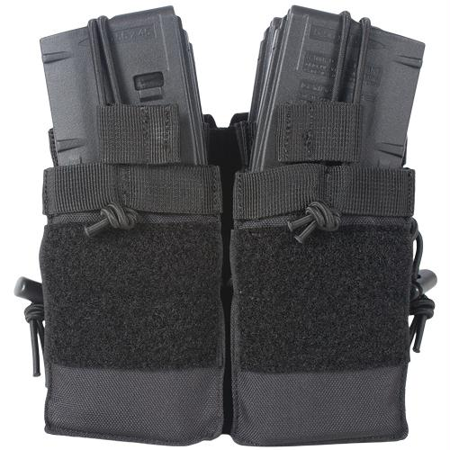 Ar Quad-stack Mag Pouch - Black