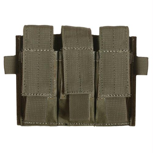 Rip-away Triple Pistol Mag Pouch - Olive Drab