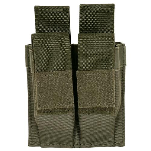 Pistol Quick Deploy Dual Mag Pouch - Olive Drab