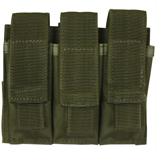 Triple Pistol Mag Pouch - Olive Drab