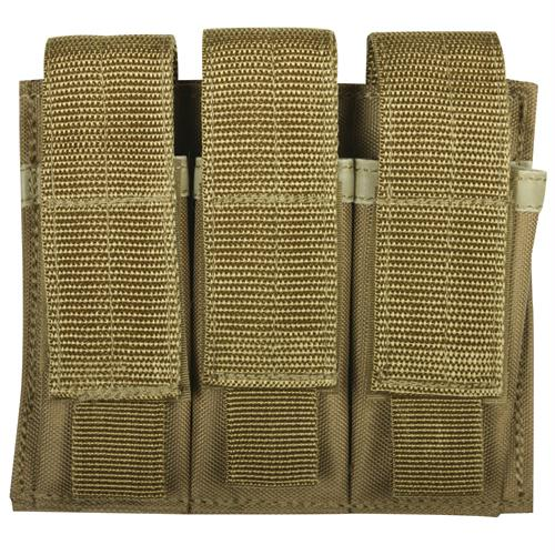 Triple Pistol Mag Pouch - Coyote