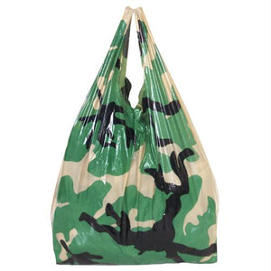 Camoflauge Shopping Bag