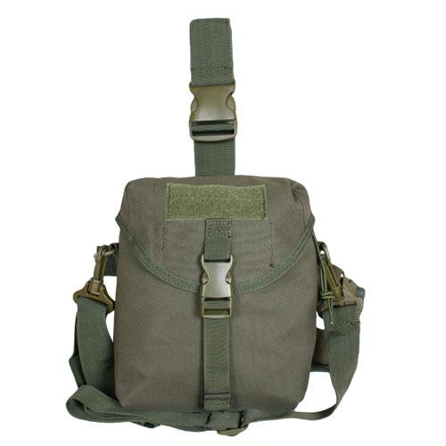 Tactical Drop Leg Dump Pouch - Olive Drab