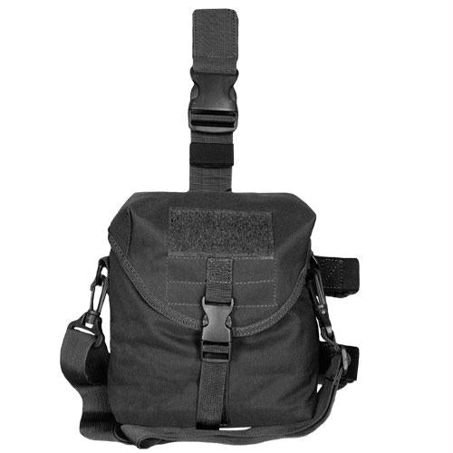 Tactical Drop Leg Dump Pouch - Black