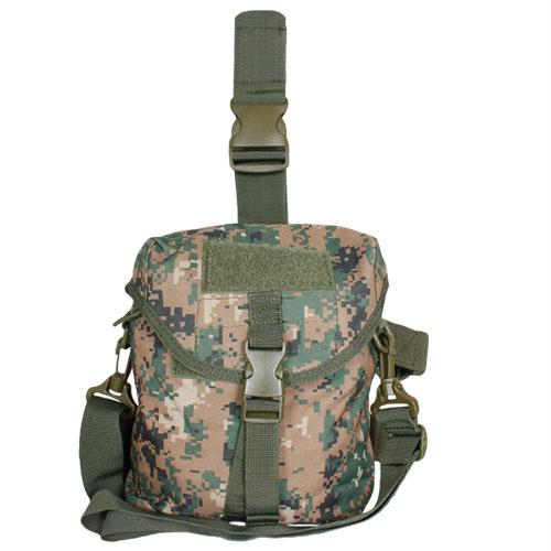 Tactical Drop Leg Dump Pouch - Digital Woodland