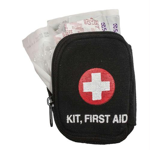 Soldier Individual First Aid Kit - Black