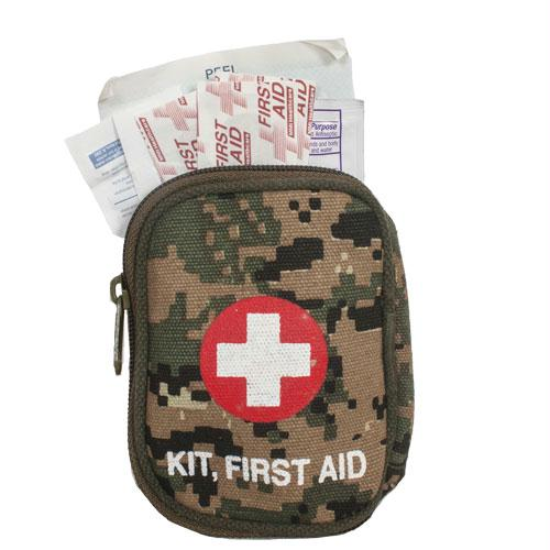 Soldier Individual First Aid Kit - Digital Woodland