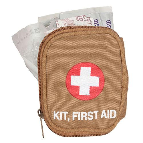 Soldier Individual First Aid Kit - Coyote