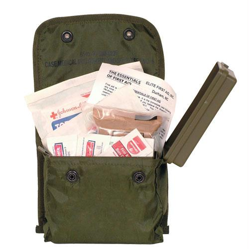 Soldier Individual First Aid Kit - Gi Isuue - Olive Drab