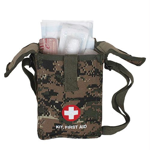 Platoon First Aid Kit - Digital Woodland