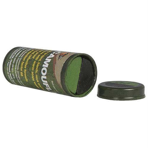 Camo Cream Stick - Black/Green