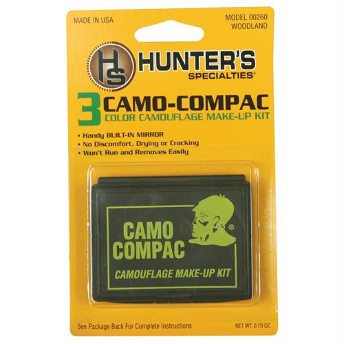 Scorpion Gi 4-color Face Paint Compact Acu/abu - Light Green, Flat Black, Mud Brown