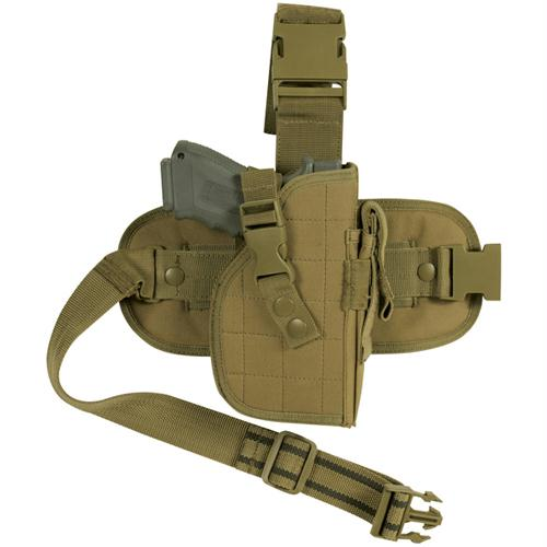 Mission Ready Drop Leg Holster - Coyote