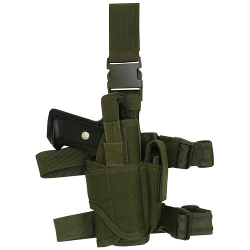 Commando Tactical Holster - Right Handed - Olive Drab