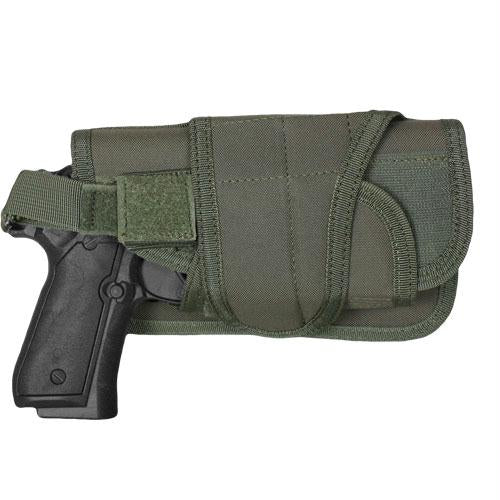 Typhoon Horizontal-mount Modular Holster - Olive Drab - Left