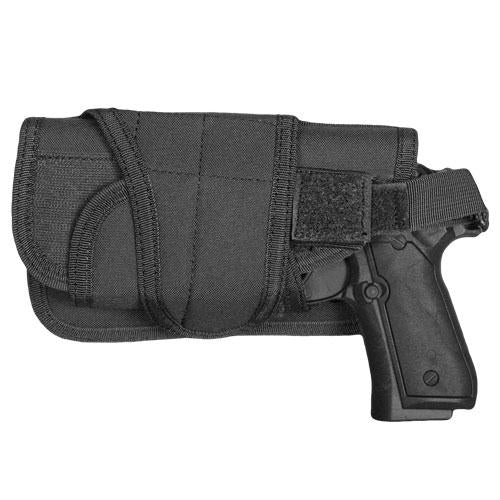 Typhoon Horizontal-mount Modular Holster - Black - Left