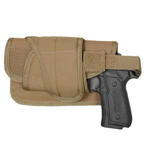 Typhoon Horizontal-mount Modular Holster - Coyote - Left