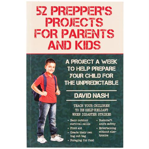 52 Prepper's Project For Parents And Kids