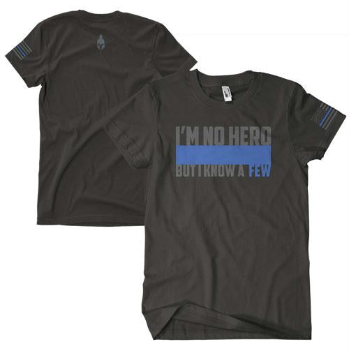 I'm No Hero Two-sided Imrinted T-shirt - L
