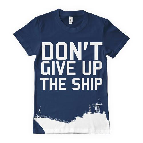Navy One-Sided Imprinted T-Shirt