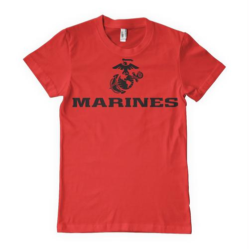 Marines One-Sided Imprinted T-Shirt